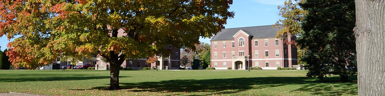 East Quad on the 安科 Campus
