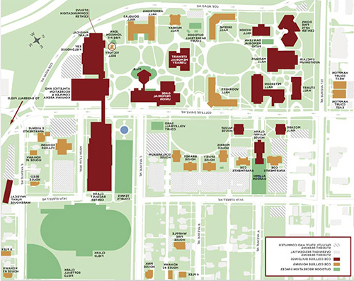 Small campus map